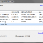 HDD Raw Copy Tool: Select SOURCE from file